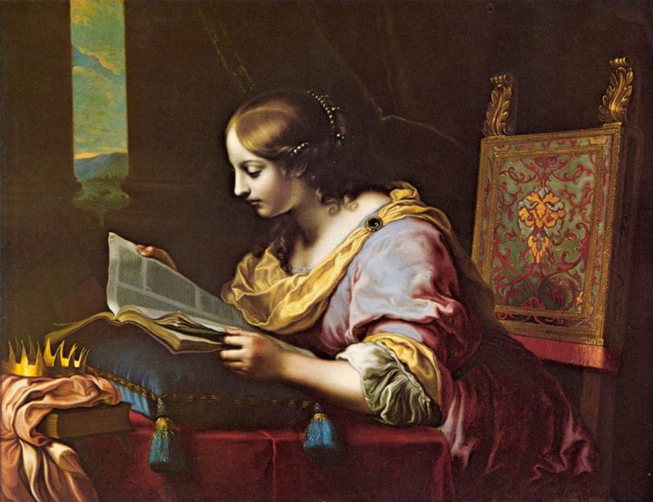 St. Catherine Reading