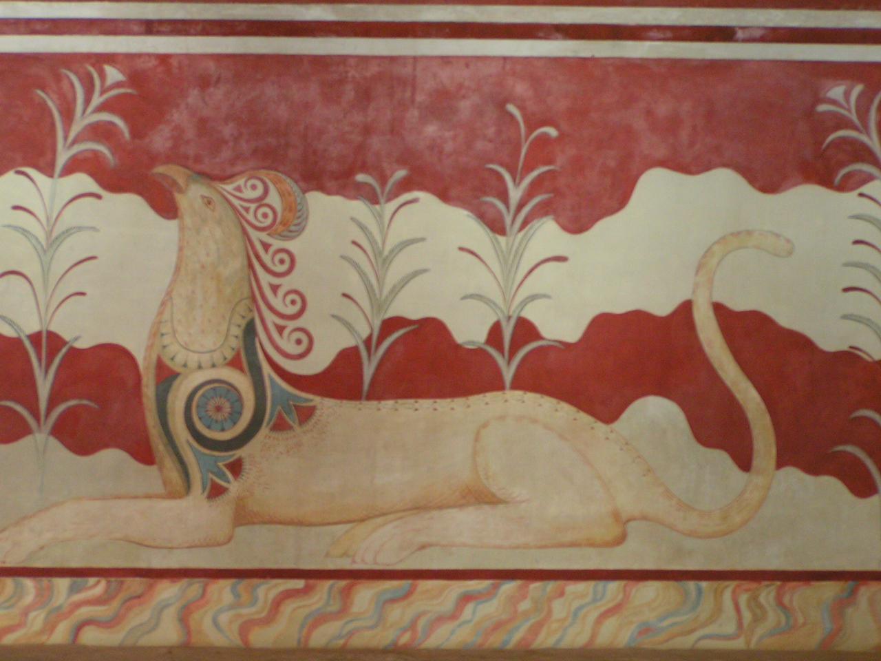 Knossos Fresco (Crete)