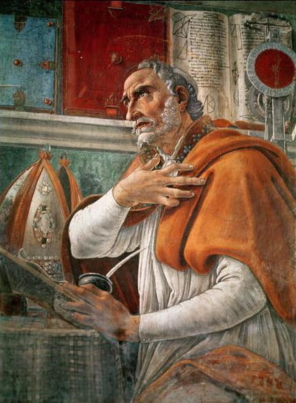 Saint Augustine by Sandro Botticelli