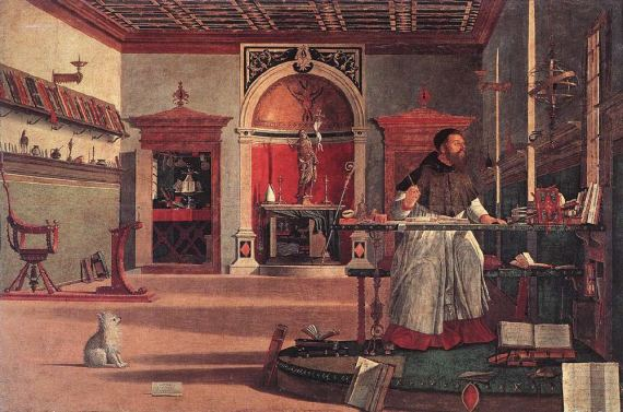 Vision of St. Augustine  by Vittorio Carpaccio